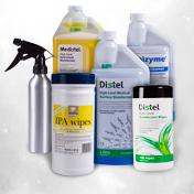 Reinigung von Oberflächen & Geräten