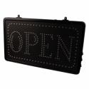 """""""OPEN"""" – LED-Schild zum Aufhängen, mit Kette"""
