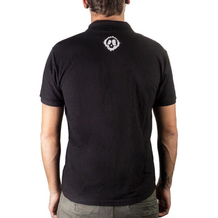 Killer Ink Poloshirt in Schwarz