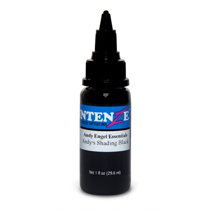 Intenze Ink Andy Engel Essentials – Andy's Shading Black 30ml (1oz)