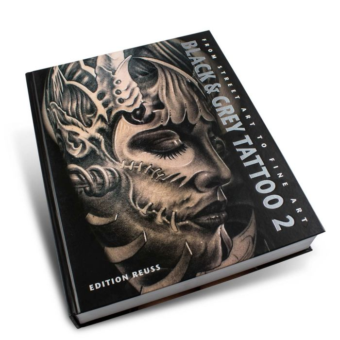 Buch: Black & Grey Tattoo: Band 2 – Edition Reuss