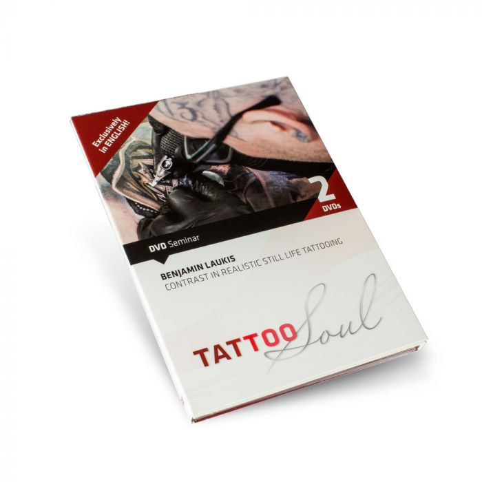 DVD: Benjamin Laukis – Contrast in Realistic Still Life Tattooing