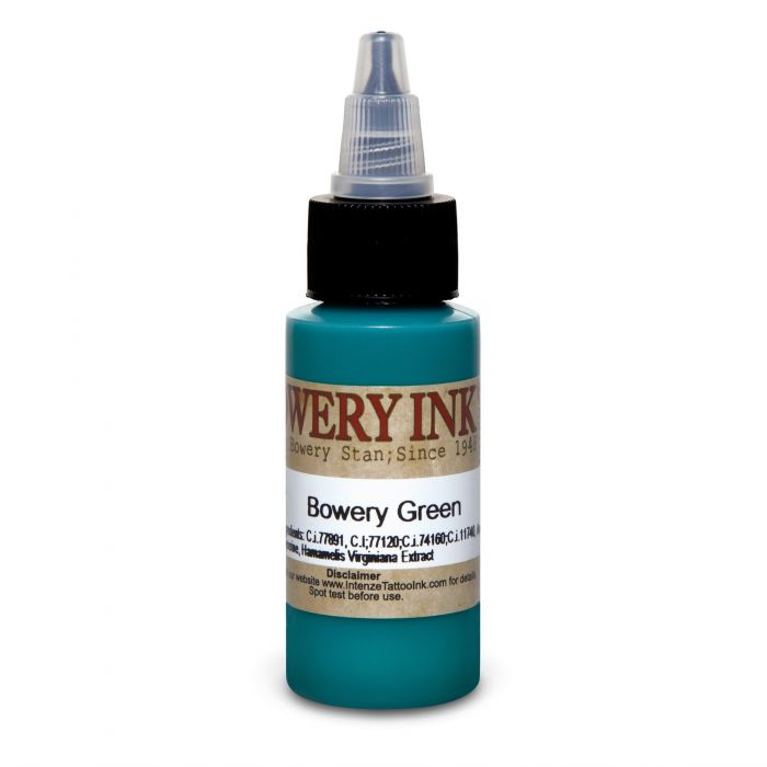 Intenze Bowery Ink by Stan Moskowitz Green 30ml (1oz)