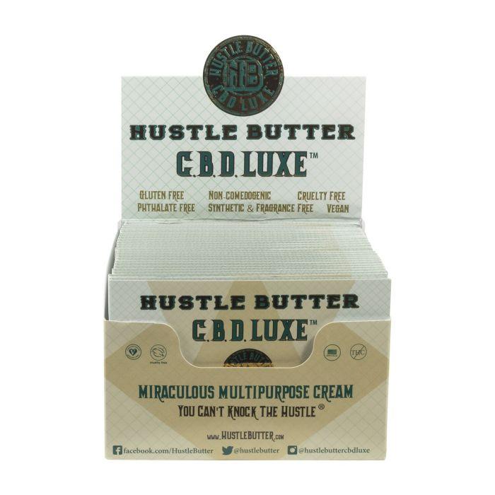 Hustle Butter CBD Luxe Einzelpäckchen Organic Tattoo Care 1,875g