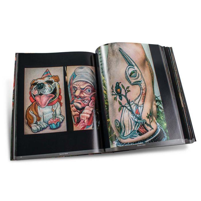 Buch: Color Tattoo Art: Comics, Cartoon, Pin-Up, Manga + New School – Edition Reuss