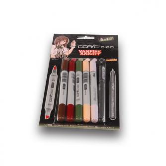 Copic CIAO Markers – Vampire Knight – Set von5+1