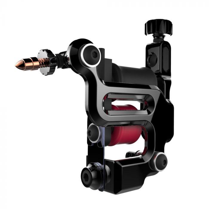 FK Irons AL13 Roswell Tattoomaschine, Aluminium-Rahmen- Solid Black - Conventional Liner