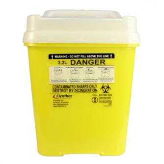 Flynther Nadel-Entsorgungsbehälter 3,2L