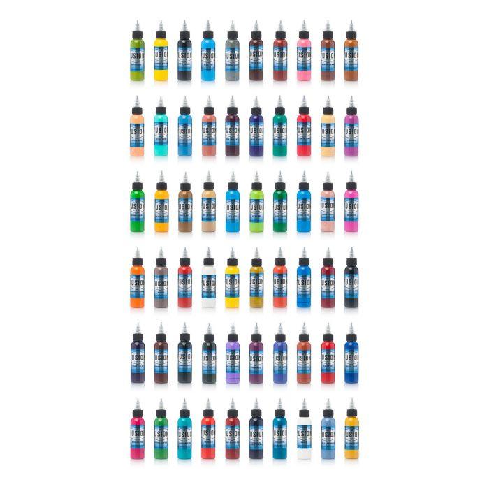 Komplettset von 60 Fusion Ink Farben