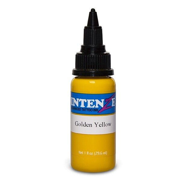Intenze Ink Basic Golden Yellow 30ml (1oz)