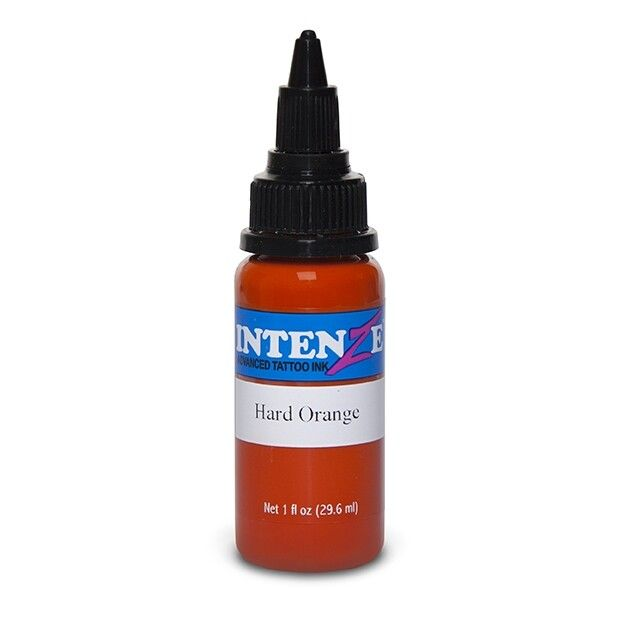 Intenze Ink Basic Hard Orange 30ml (1oz)