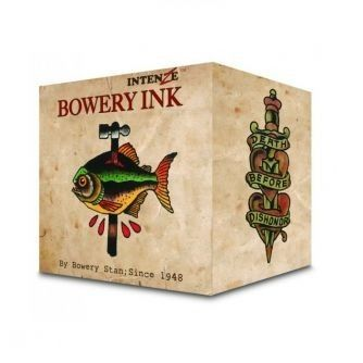 Komplettset von 8 Intenze Bowery Ink by Stan Moskowitz Farben je 30ml (1oz)