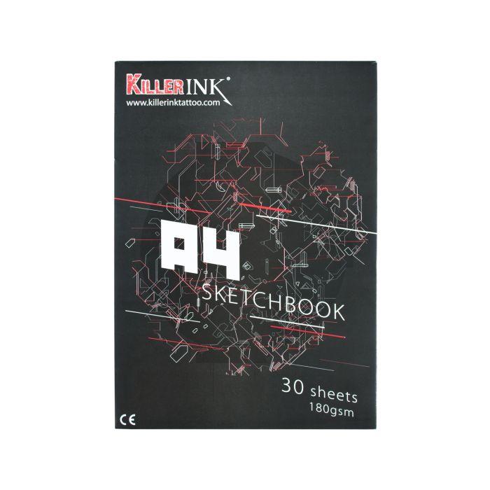 Killer Ink 63GSM Pauspapierblock DIN A3 bzw. DIN A4 (50 Blätter)