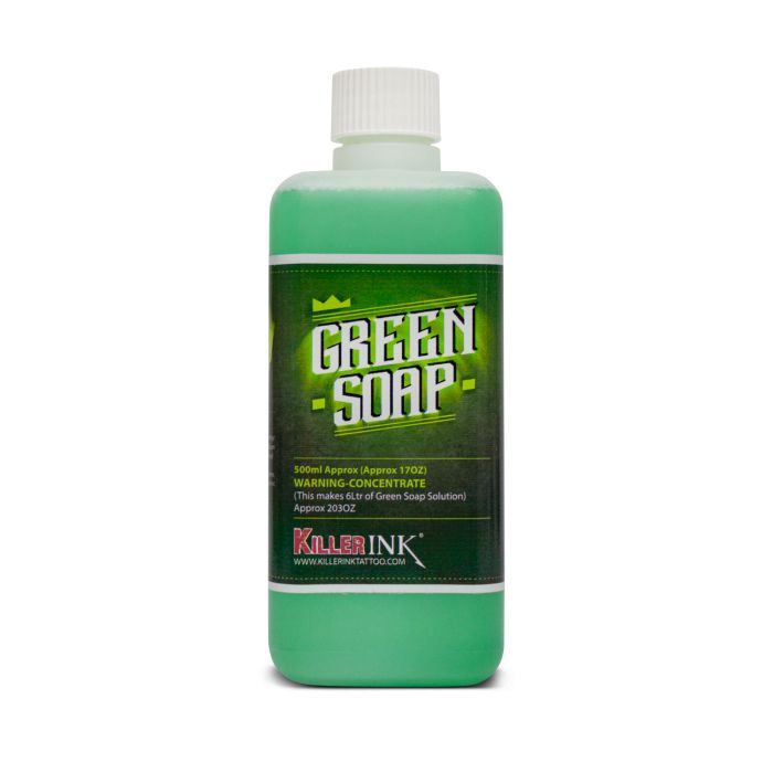Killer Ink Grüne Seife - Konzentrat, Flasche je 500ml