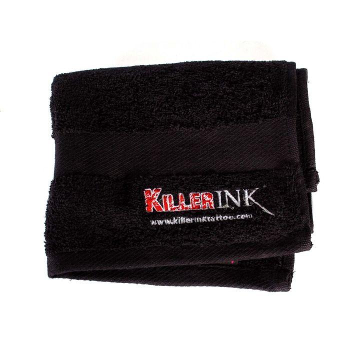 Killer Ink Handtuch, schwarz, für Studiobedarf – 40cm x 60cm