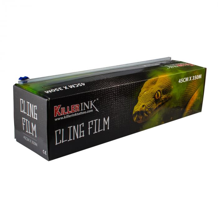 Killer Ink Easy Cut Klarsichtfolie im Abroller 350m x 45cm