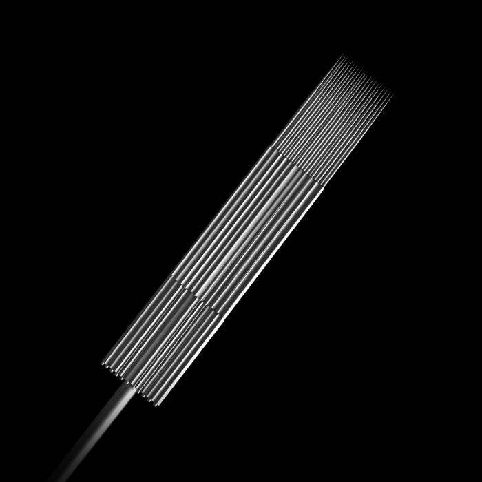 25 St. Killer Ink Precision #10 0,30MM sterile Edelstahl-Tattoonadeln Flat
