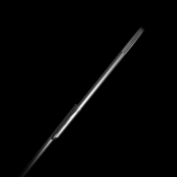 25 St. Killer Ink Precision #10 0,30MM sterile Edelstahl-Tattoonadeln Round Shader