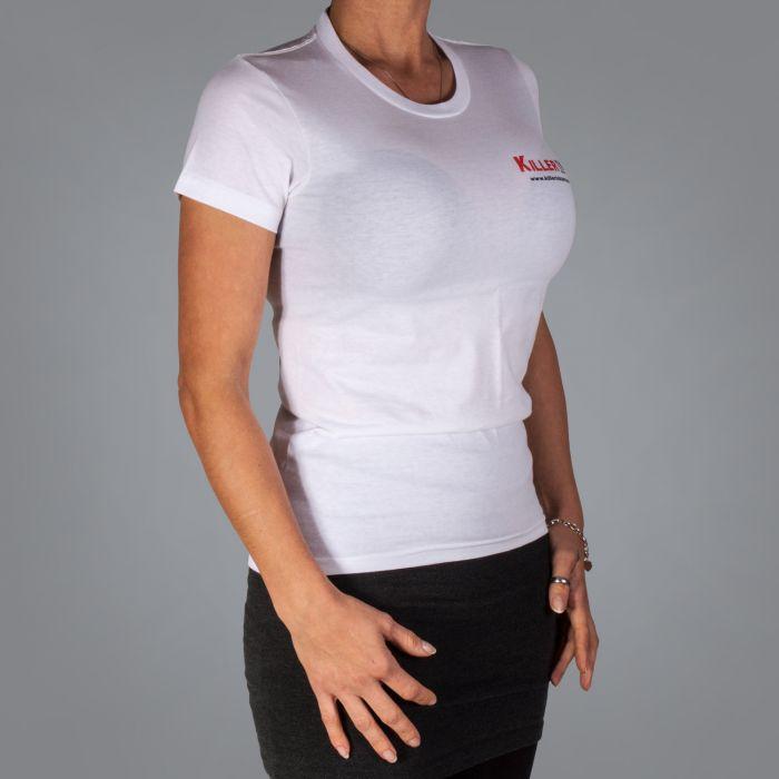 Killer Ink Frauen-T-Shirt in Weiß