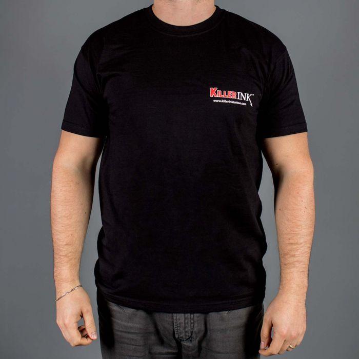 Killer Ink T-Shirt mit Rundhalsausschnitt in Schwarz