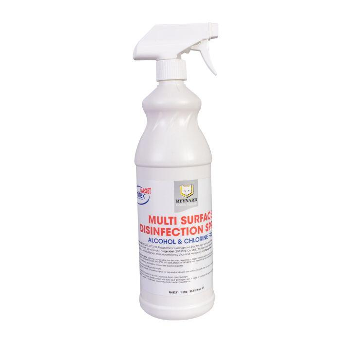 Reynard Mehrzweck-Oberflächendesinfektionsspray – alkohol- und chlofrei 1L