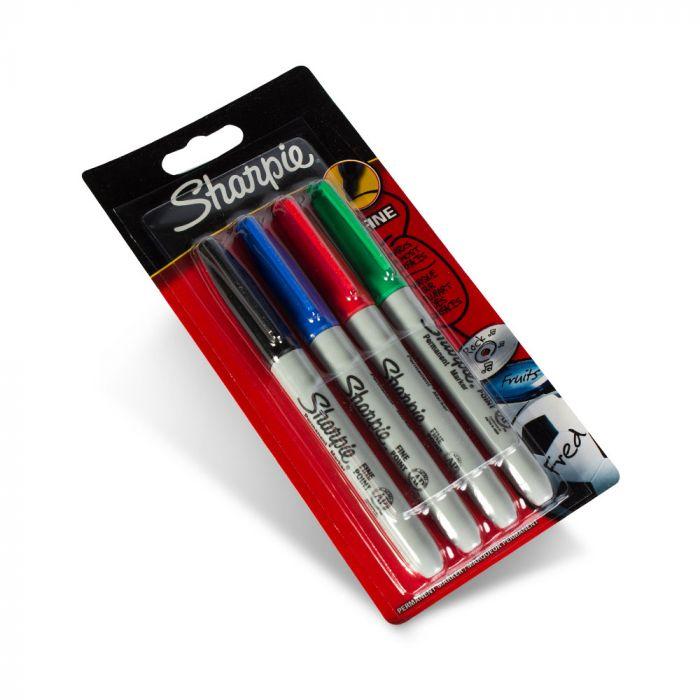 4er Pack Sharpie Fine Point Stifte