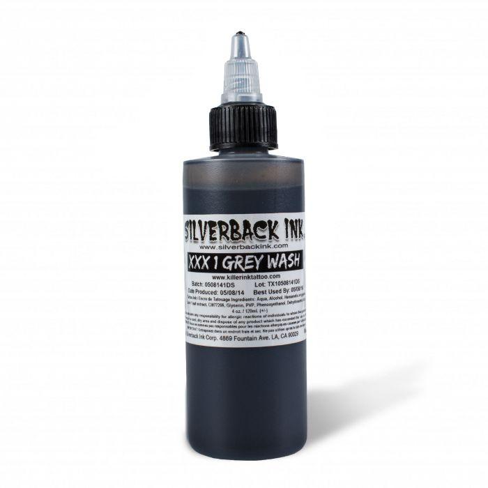 Silverback Ink® XXX 120ml (4oz) Greywash 1