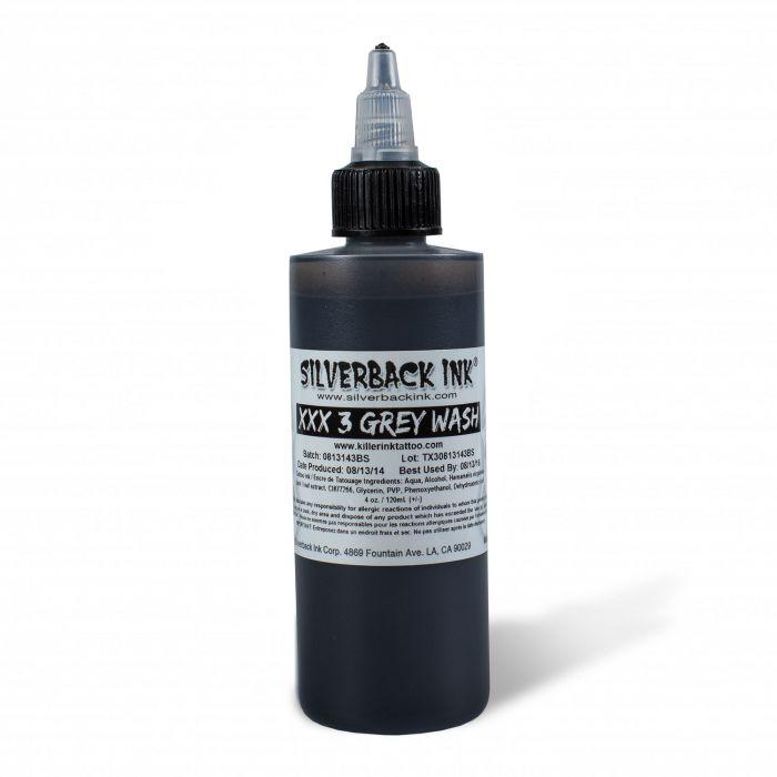 Silverback Ink® XXX 120ml (4oz) Greywash 3