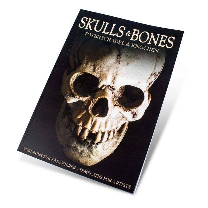 Buch: Skull & Bones – Vorlagen für Tätowierer