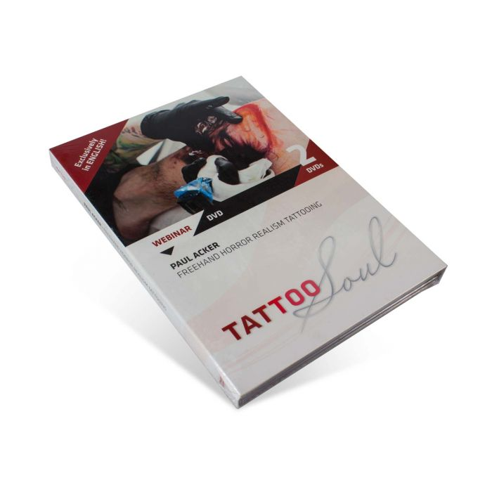TattooSoul DVD – Paul Acker