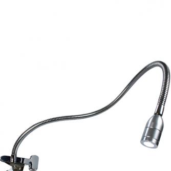 Verstellbare Punktlicht-Tischlampe mit mit Vergrößerungsglas
