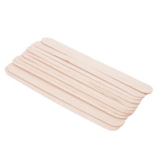 100 Holz-Zungenspatel