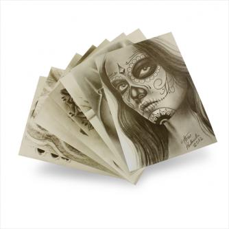 Vorlagen: Theo Pedrada – Day of The Dead Flash Series (8 Blätter)