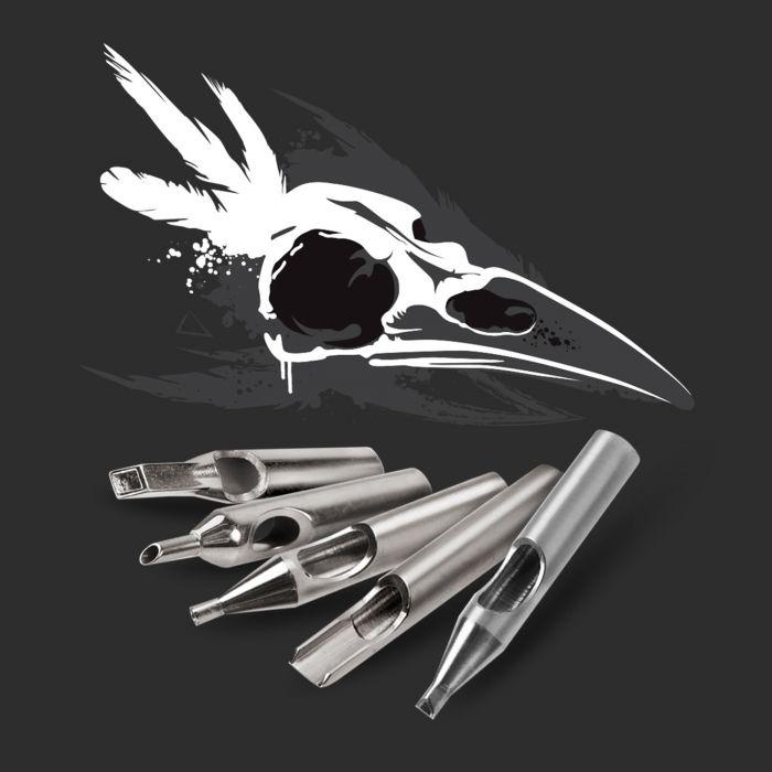 Killer Ink 36er Spitzenset aus 316 Edelstahl: Rund, Diamant + Magnum Premium