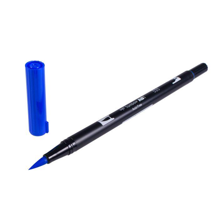 Eine 6er Packung Tombow Dual Brush Stifte - Basisfarben