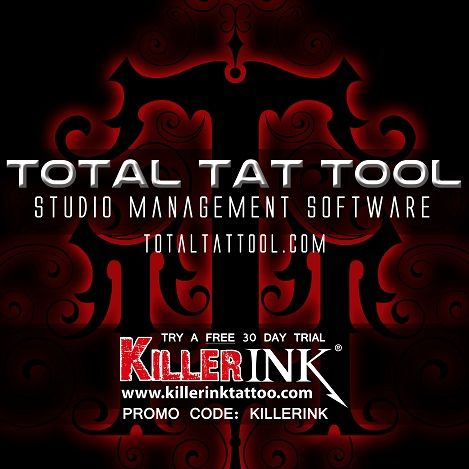 Total Tattool Studioverwaltungssoftware