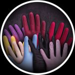Sortiment an Handschuhe für das Tätowieren